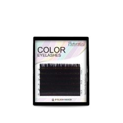 Mini Color mix  Eyelashes (dark brown color)
