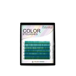 Mini Color mix  Eyelashes (OCEAN BLUE color)