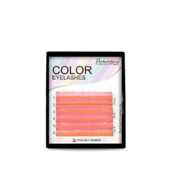 Fluorescent Eyelash Eyelash Maker mix pink col.